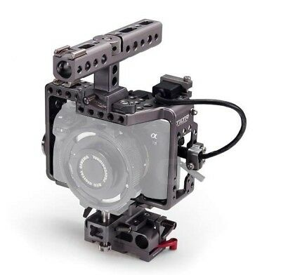 Tilta ES-T17 Rig Cage Baseplate Top Handle For SONY A7 A7S2 A7R A7R2