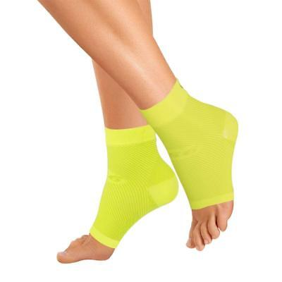 OrthoSleeve FS6 Compression Foot Sleeve (One Pair) for Plantar Fasciitis, small