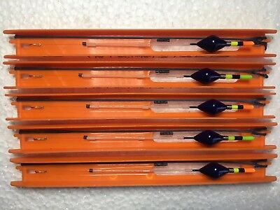5 Strong Handmade Carp Pole Float Rigs,all Top Materials Used