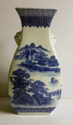 Chinese antique / vintage vase blue and white