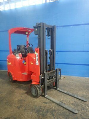 FLEXI EC20. 2006 USED ARTICULATED ELECTRIC FORKLIFT TRUCK. 244Hours $70K NEW