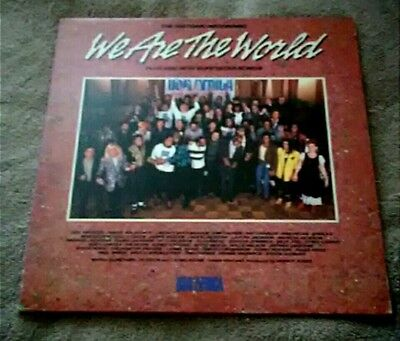 """USA For Africa """"We Are The World"""" Gatefold Vinyl LP With Original Order Form"""