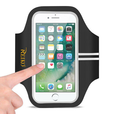 Running Sports Armband For Iphone 7 Plus/ 6S Plus Or 5.5 Inches Device In Black