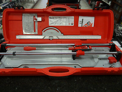 """Rubi TR-700S 28""""  Manual Tile Cutter with Case"""