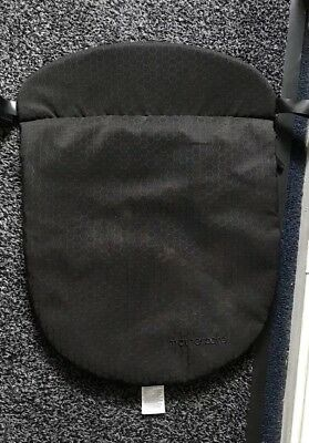 Mothercare Orb Carry Cot Apron Cover Weather Shield    Black.