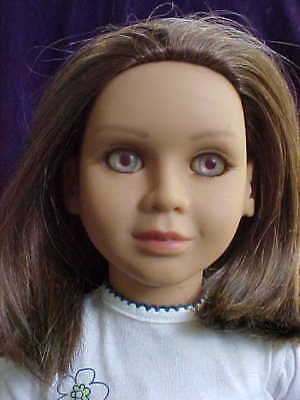 "My Twinn Doll 23"" Shoulderlength Brunette Girl 2006"