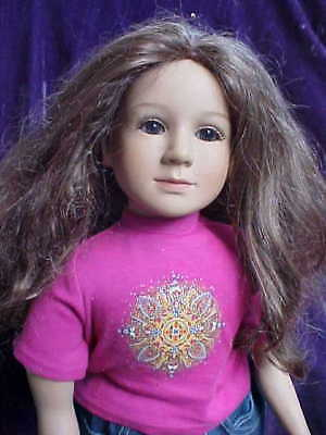 "My Twinn Doll 23"" Long Wavy Hair with Freckles from 1999"