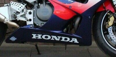 Honda belly pan stickers decals - motorcycle fairing