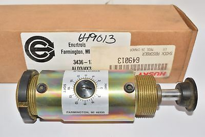 NEW Enertrols 3436-13000  Shock Absorber External Accumulator, Air or Mech. Retu