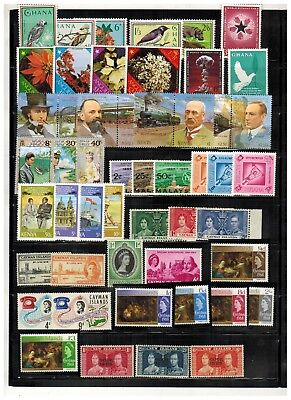 Lot of British Commonwealth Old Stamps MNH-