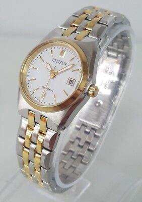 Citizen Eco-Drive Corso EW2294-53A Women's 29mm Two-Tone Watch *SHIPS FREE*