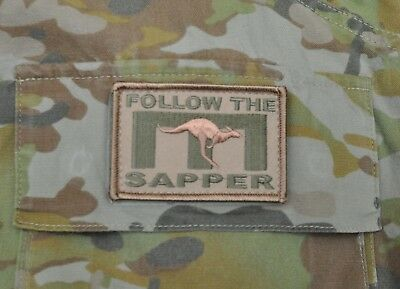 Iraq Afghanistan AMCU friendly RAE Sapper patch