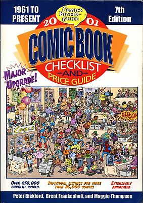 Comic Buyer's Guide Comic Book Price Guide #7 ~ 2001 ~ soft cover