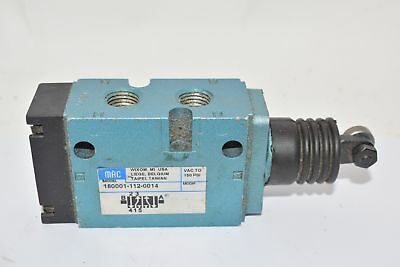 Mac 180001-112-0014 Control Valve With Roller Lever 150 Psi