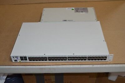ALCATEL-LUCENT OMNISWITCH OS6850-P48 / 48-PORT SWITCH with 530 Watt Power Supply