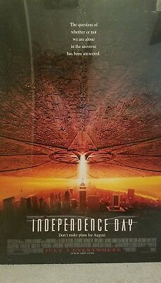 Independence Day Will Smith Sci-FI Single Sided Original 27x40 Movie Poster 1996