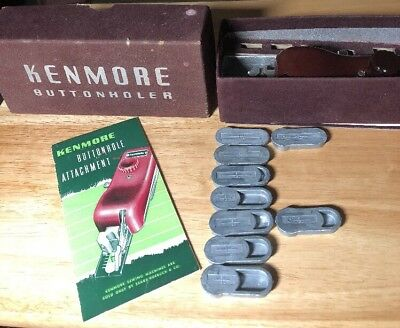 Vintage Kenmore Buttonholer Attachment for Sewing Machines 60706       D14