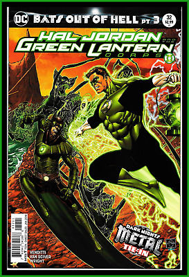 Hal Jordan And The Green Lantern Corps #32-A Metal: Bats Out Of Hell Dc Rebirth