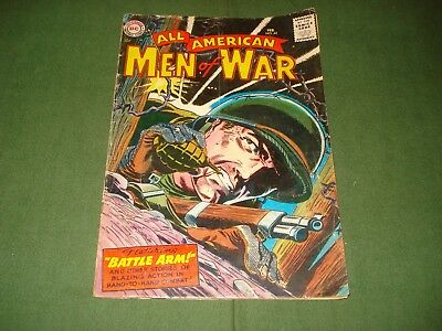 All American Men Of War Comics #42, Sgt Rock Try Out Story, 1957