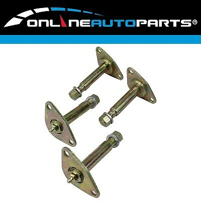 4 Greasable Leaf Spring Shackle Pin suits Toyota Hilux Front & Rear