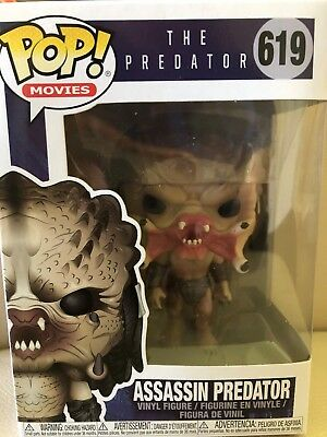 "Funko Pop! Movies The Predator "" ASSASSIN PREDATOR "" Vinyl figure # 619  NEW"