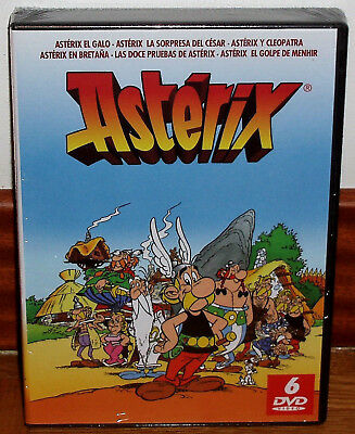 Asterix & Obelix Collection Pack 6 Discs Dvd New Animation (Unopened) R2