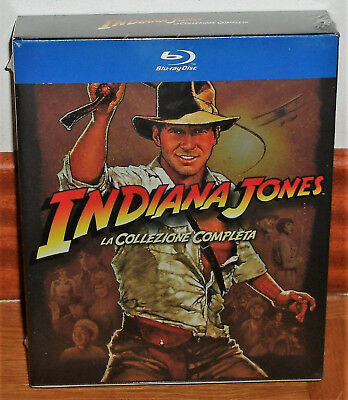 Indiana Jones The Aventuras Complete 5 Blu-Ray New Spanish (Unopened) R2