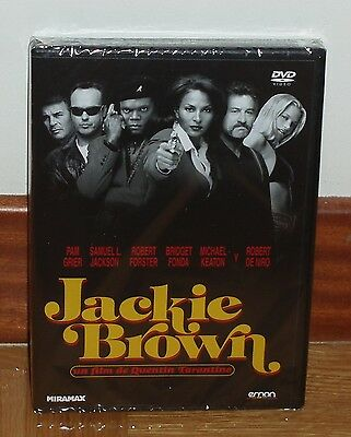 Jackie Brown Dvd New Sealed Drama Thriller Quentin Tarantino (Unopened)