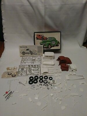 SCARCE Vintage AMT '40 Willys / '32 Ford Show 'N' Go Plastic Model 1:25 Boxed