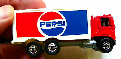 "1980 Mattel - Hot Wheels ""pepsi"" Die-Cast/plastic Delivery Truck"