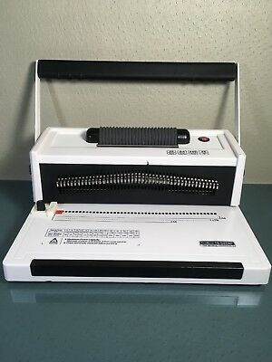 TruBind Coil-Binding Machine With Electric Coil Inserter TB-S20AP #482