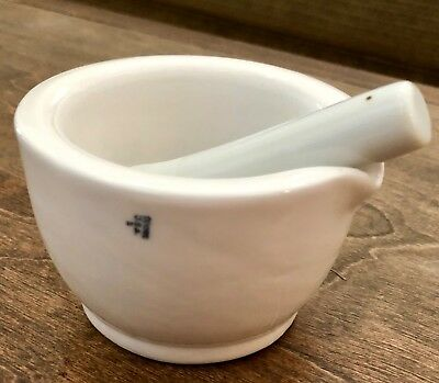 Vintage Coors USA Mortar and Pestle Model No. 1 **Excellent Condition - Must See