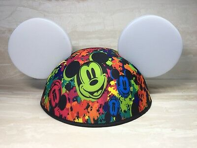 Disneyland Paris LED Light Up Mickey Mouse Ears Hat