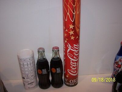 New Orleans Coke And Diet Coke Final Four Coca Cola Bottle In Tube And Wpin