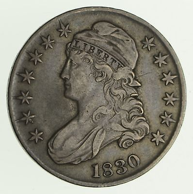 1830 Capped Bust Half Dollar - Circulated *4162