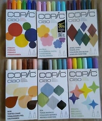 copic ciao marker set 36 pens.