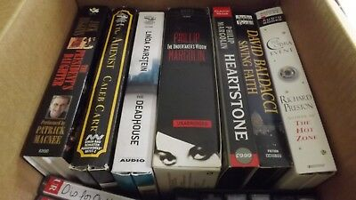 Lot Of Audio books On Cassette (total Of 12) used but in good condition