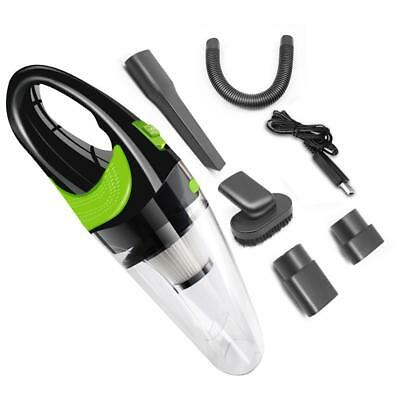 Portable Vacuum Cleaner Cordless Dust Catcher Car Home Dual Use USB charging