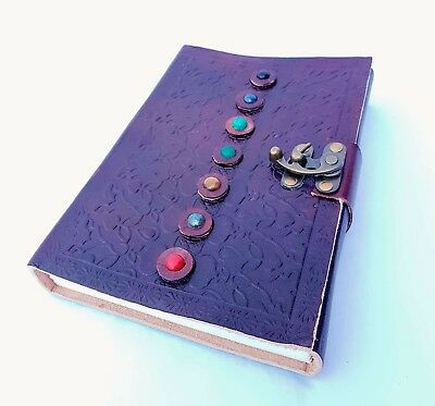 Handcrafted leather bound journal