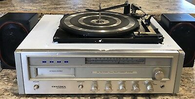 Centrex By Pioneer AM/FM Stereo 8 Track Compact System W/ Record Player TH-3311