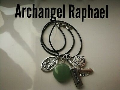 Code 392 Aventurine Archangel Raphael Infused Necklace Shield for Health Wrap up