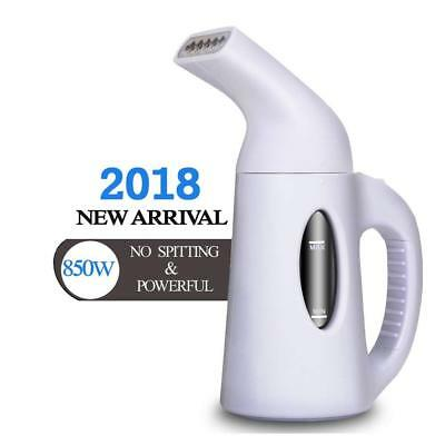 Portable Steamer For Clothes, 850 Watt Powerful Clothes Steamer Wrinkle Remover.