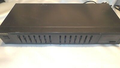 Vintage Technics SH-8016 Stereo 7-Band Graphic Equalizer