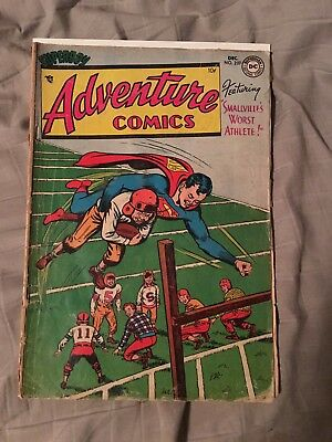 Adventure comics 207 Low Grade Football cover Superboy. Htf. Best Price