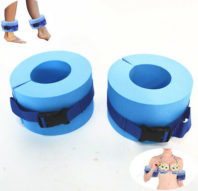 One Pair Learn To Swim Float Bands Foam Swimming Arm Bands Pool Floaties