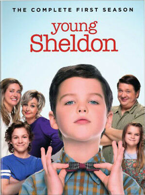 Young Sheldon: Complete First Season (2018, DVD NIEUW)2 DISC SET