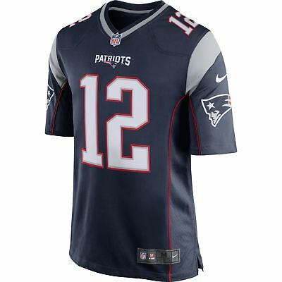 NEW New England Patriots #12 Tom Brady NFL Kid's Jersey by Nike