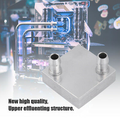40x40x27mm Aluminum Heat Sink Water Block For CPU PC Computer Water Cooling