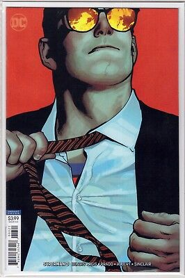 SUPERMAN #3 DC Adam Hughes Virgin VARIANT Cover Brian Bendis DC Comic Unread NM+