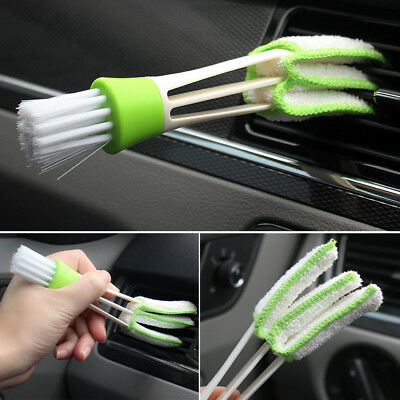 1Pc Office Car Auto Air Outlet Vent Dashboard Dust Cleaner Cleaning Brush Tool